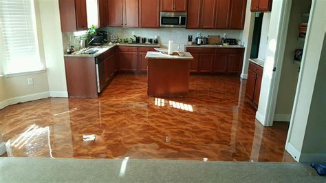 epoxy kitchen floor atx stained concrete stained concrete polished 3586