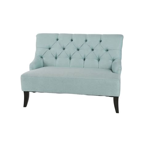 What Is Settee by Settee Seafoam A Chair Affair Inc