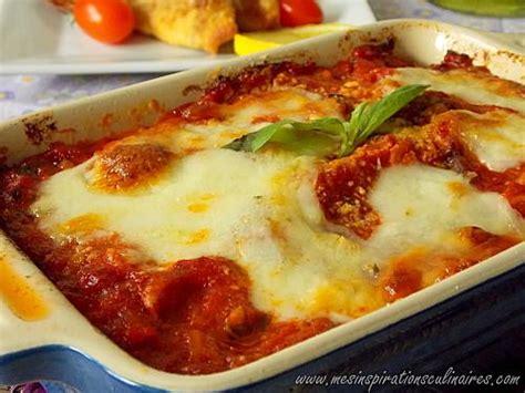 cuisine tv recettes italiennes aubergines alla parmigiana recette familiale classique