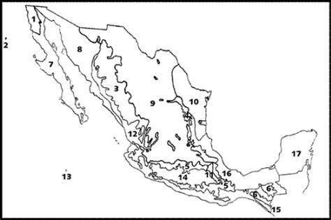 las regiones naturales de mexico para colorear hacia una s 237 ntesis biogeogr 225 fica de m 233