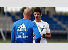 Alvaro Morata says he has nothing to prove to Zinedine Zidane