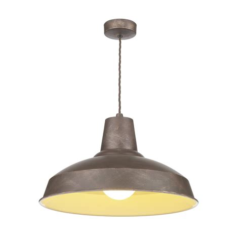 hicks and hicks calstock pendant light weathered bronze