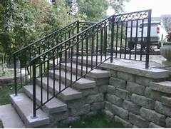 Outdoor Metal Handrails For Stairs by Railing Stairs Exterior Fence Iron Work Exterior Railings Pinterest Goo