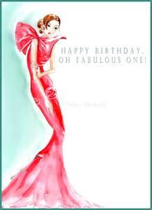 Happy Birthday Fashion Card