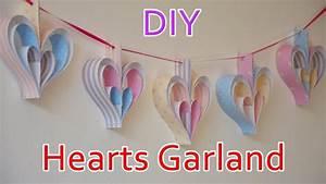 Diy, Crafts, Hearts, Garland