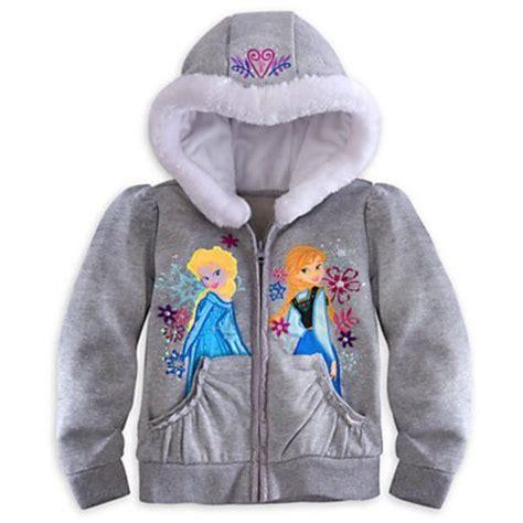 disney store frozen annaelsa hoodie sweatshirt jacket xxs