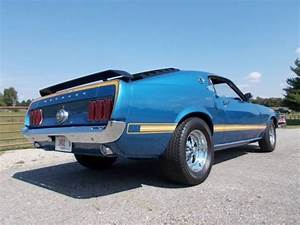 1969 Ford MUSTANG FASTBACK, MACH PARTS, SHAKER, Built 351 C, 5-Sp, Acapulco Blue - Classic Ford ...