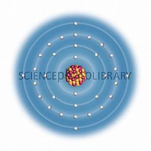 Germanium, atomic structure - Stock Image C023/2522 ...
