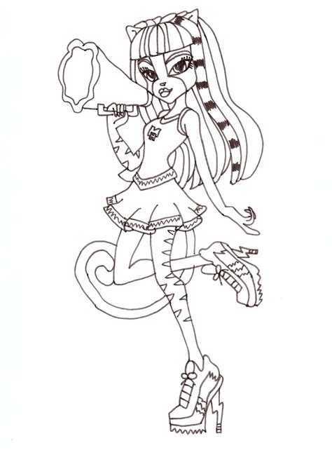 Coloring High by 44 High Dolls Coloring Pages High Doll
