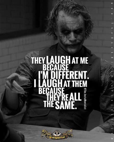 quote  joker dark knight batman quotes laugh ill