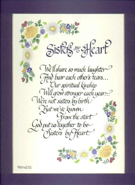 thinking   sister poems poem  originally    client  future sister  law