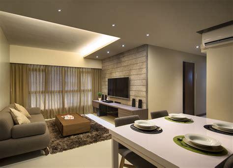 Hdb 4room Renovation At Punggol Walk