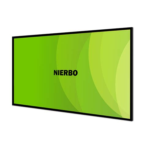 nierbo sable frame projector screen    ultra hd