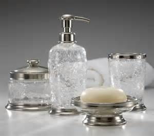 crystal vine platinum bath furnishings by labrazel