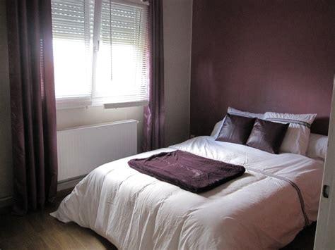 chambre aubergine et blanc peinture chambre beige rosé chaios com