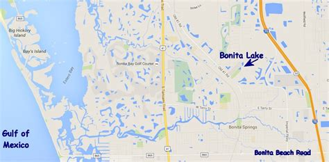 bonita lake resort rv springs fl map location