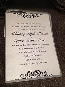 wedding invitation wedding ideas pinterest With wedding invitation with picture pinterest