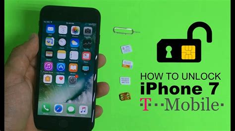 unlock tmobile iphone how to unlock iphone 7 from t mobile to any carrier