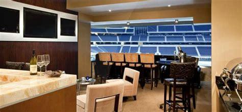 luxury private suites   favorite nfl stadiums