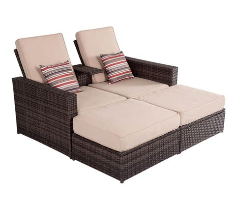 buy cheap chaise lounge patio wicker lounge sofa with ottoman set buy cheap lounge sofa chaise lounge sofa