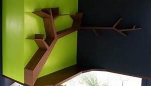 Petite étagère D Angle : petite tag re d angle en bois id es de d coration int rieure french decor ~ Teatrodelosmanantiales.com Idées de Décoration