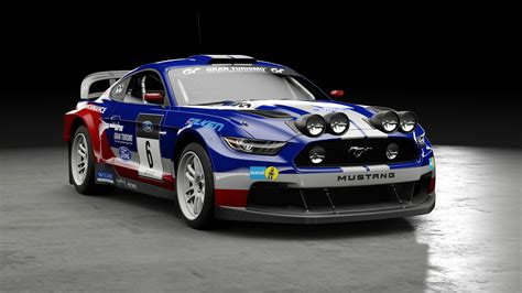 gt sport ford mustang b rally car