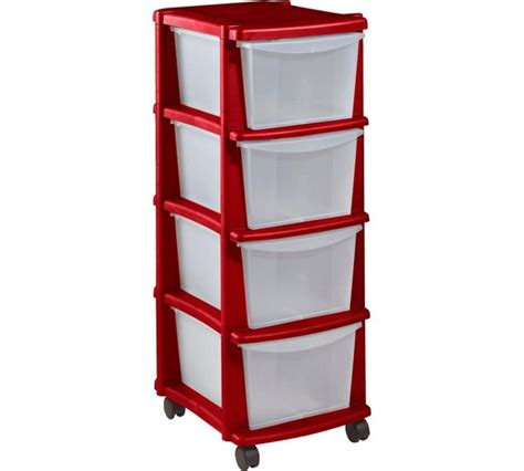 organizers for kitchen drawers buy home keter 4 drawer plastic tower storage unit 3786