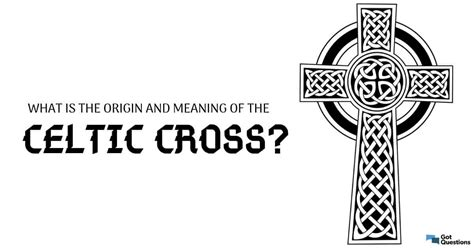 The celtic cross is like a traditional cross but with a ring around the intersection of the stem and arms. What is the origin and meaning of the Celtic cross?   GotQuestions.org