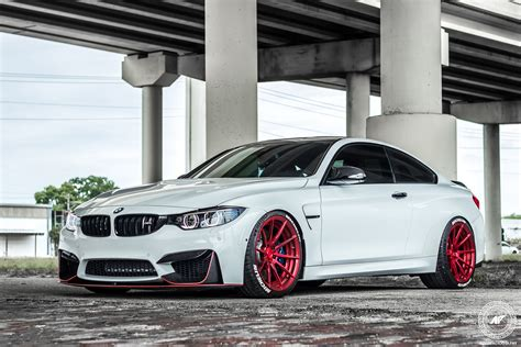 White Bmw Rims by Alpine White Bmw M4 Adv10 M V2 Cs Series Wheels
