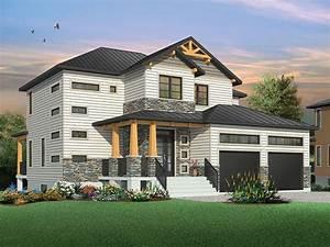 Maison moderne aux accents rustiques blogue dessins drummond for Plans de maison en l 12 deco les plus belles suspensions pour la maison