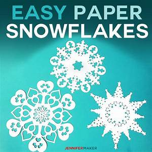 Paper Snowflake Templates: How To Make Amazing Winter