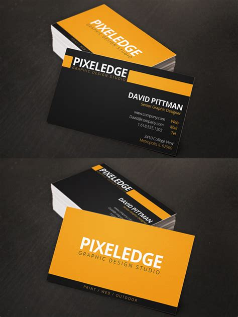 corporate business cards  modern design templates
