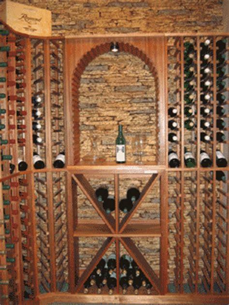 secret  building luxurious wine cellars