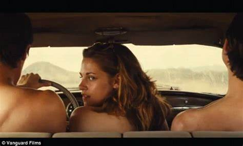 My Girl Came Classic From The Trip Kristen Stewart Brushes Off Bare Session In New Film On