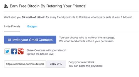 Click on the receive button and copy your bitcoin wallet address (link). Get Free Bitcoin Via The Coinbase API - The Coinbase Blog