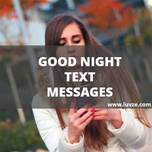 Cute Good Night SMS Text Messages for Him/Her & Texting ...