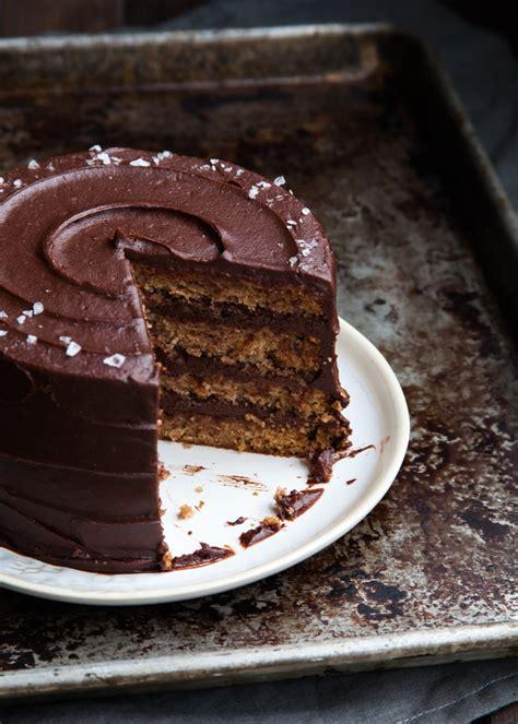 pear chocolate hazelnut gianduja cake style sweet ca
