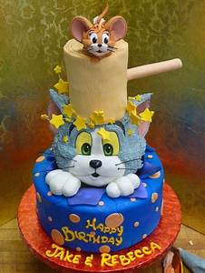 Tom and Jerry cakes / Tom and Jerry cakes ideas, Part 1 ...