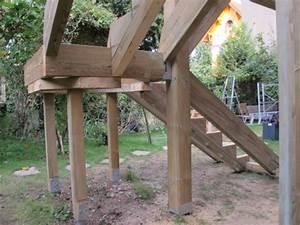 realiser sa terrasse en bois 3 terrasse sur pilotis en With realiser sa terrasse en bois