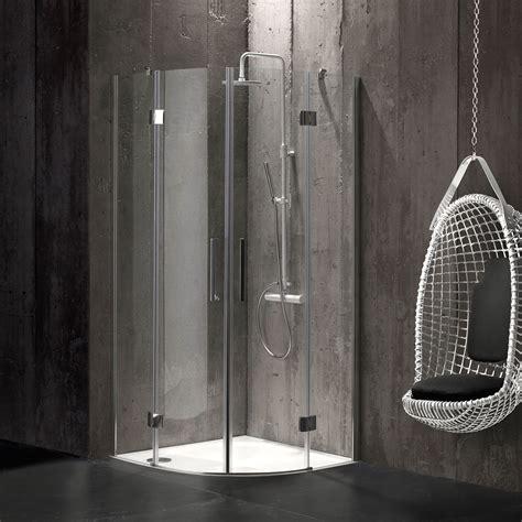 box doccia senza profili box doccia semicircolare 80x80 in cristallo 6 mm senza