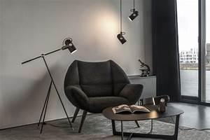 Le klint carronade 160 pendant small black finnish for Floor lamp rona