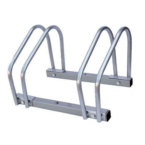 Bike Rack For Garage Floor by 2 Bike Floor Wall Mount Bicycle Cycle Rack Storage Locking