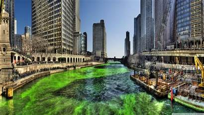 Hdr Chicago River 4k Ultra Wallpapers Uhd