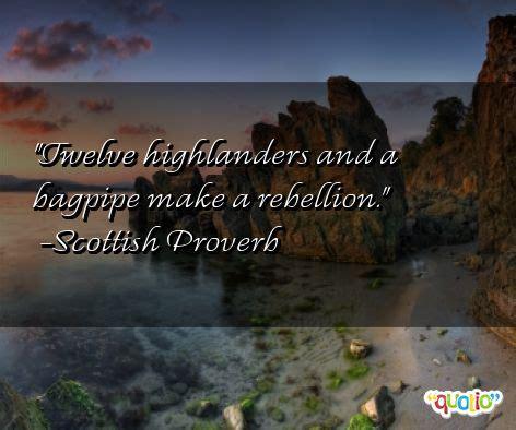 scottish sayings  quotes quotesgram