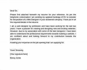 sample professional cover letter template 10 download With professional resume and cover letter templates