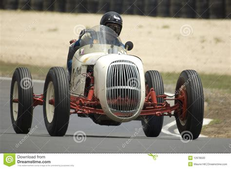 Vintage Racing Car Editorial Image. Image Of Race, Track