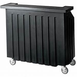 Cambro, Black, Small, Portable, Bar, Indoor, Outdoor, Bar, Bar540
