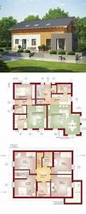 Moderne Häuser Mit Grundriss : einfamilienhaus mit einliegerwohnung haus evolution 208 v3 bien zenker fertighaus bauen als ~ Bigdaddyawards.com Haus und Dekorationen