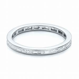 eternity baguette diamond wedding band 101868 With baguette diamond wedding rings