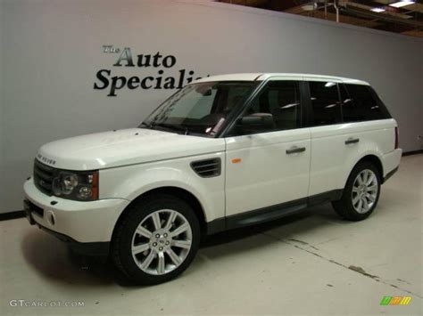 land rover hse white 2007 chawton white land rover range rover sport hse